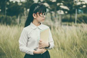 Asian student